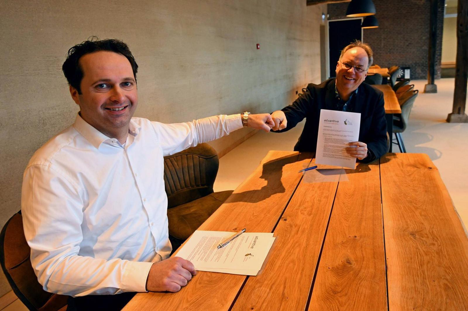 Het Limburgs Landschap en Advantive sluiten een 4-jarige samenwerkingsovereenkomst
